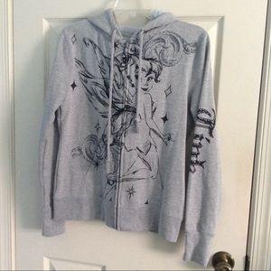 NWT Size XL Tinker Bell Disney hoodie